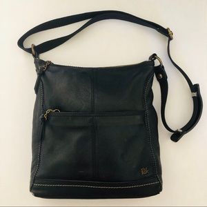 The Sak Handbag Black Leather Shoulder Bag